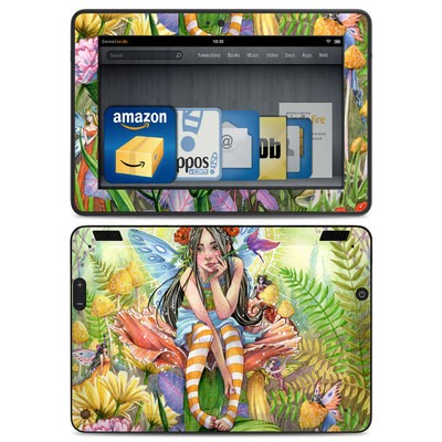 Amazon Kindle HDX Skin - Hide and Seek