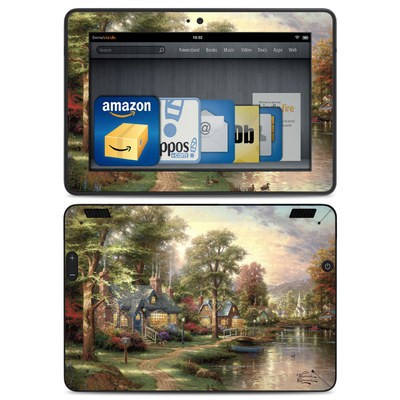 Amazon Kindle HDX Skin - Hometown Lake
