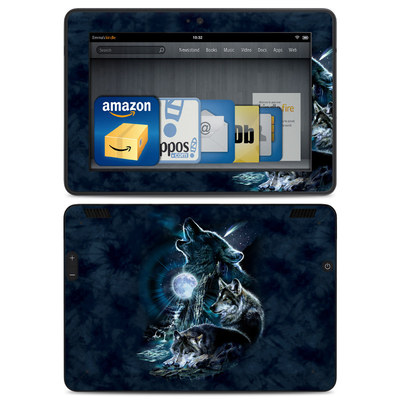 Amazon Kindle HDX Skin - Howling