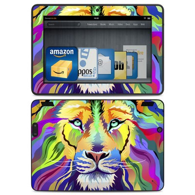 Amazon Kindle HDX Skin - King of Technicolor