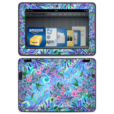 Amazon Kindle HDX Skin - Lavender Flowers