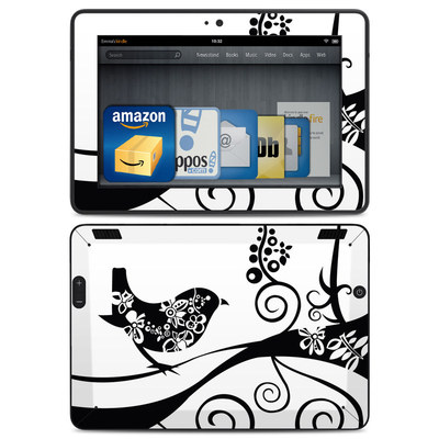 Amazon Kindle HDX Skin - Little Curly