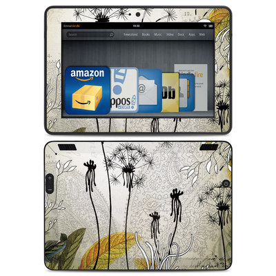 Amazon Kindle HDX Skin - Little Dandelion