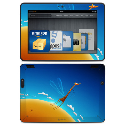 Amazon Kindle HDX Skin - Learn to Fly