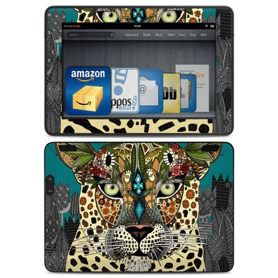 Amazon Kindle HDX Skin - Leopard Queen