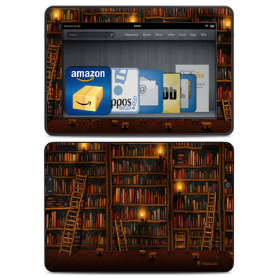 Amazon Kindle HDX Skin - Library