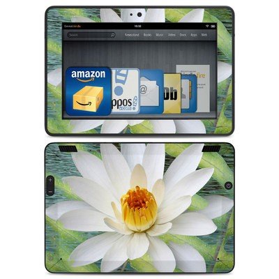 Amazon Kindle HDX Skin - Liquid Bloom