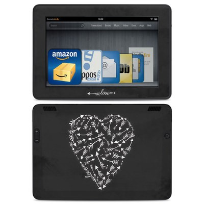 Amazon Kindle HDX Skin - Love Me Not