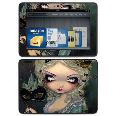 Amazon Kindle HDX Skin - Marie Masquerade