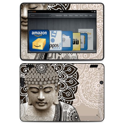 Amazon Kindle HDX Skin - Meditation Mehndi