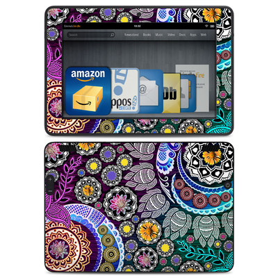 Amazon Kindle HDX Skin - Mehndi Garden