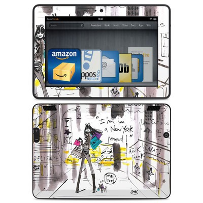 Amazon Kindle HDX Skin - My New York Mood