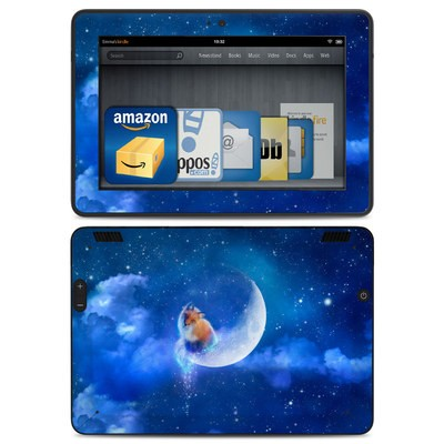 Amazon Kindle HDX Skin - Moon Fox