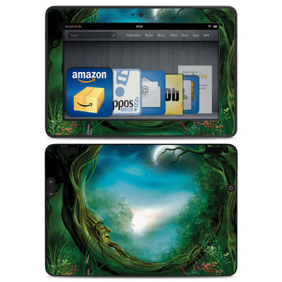 Amazon Kindle HDX Skin - Moon Tree