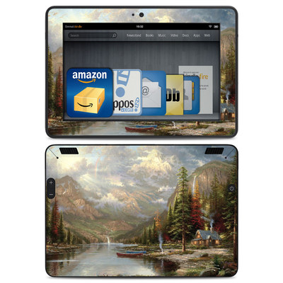 Amazon Kindle HDX Skin - Mountain Majesty