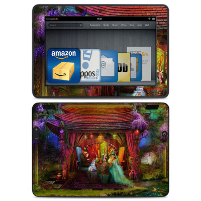 Amazon Kindle HDX Skin - A Mad Tea Party