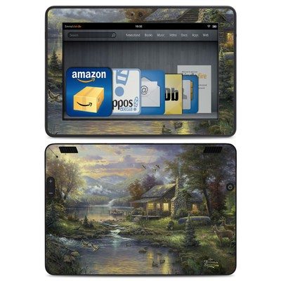 Amazon Kindle HDX Skin - Natures Paradise