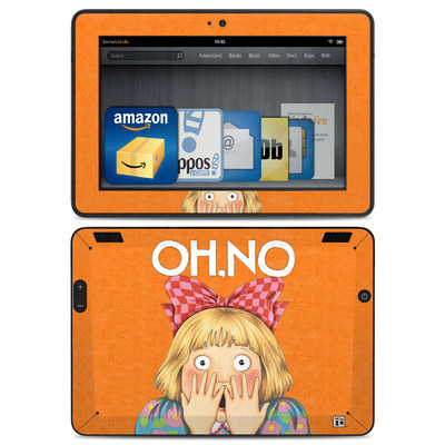 Amazon Kindle HDX Skin - Oh No