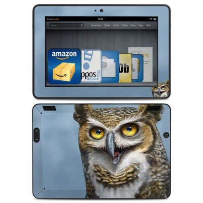 Amazon Kindle HDX Skin - Owl Totem