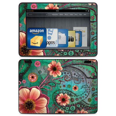 Amazon Kindle HDX Skin - Paisley Paradise