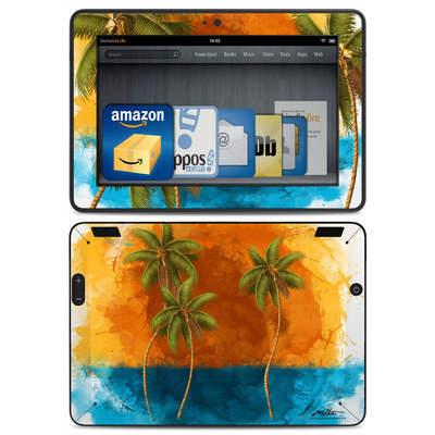 Amazon Kindle HDX Skin - Palm Trio