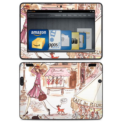 Amazon Kindle HDX Skin - Paris Makes Me Happy