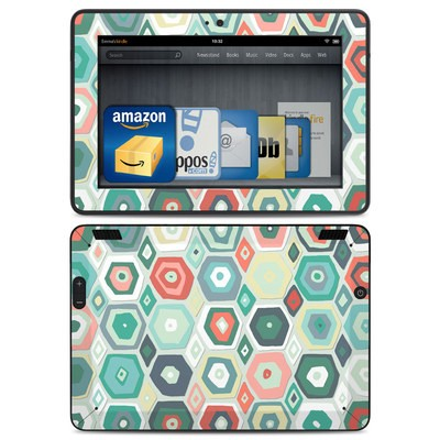 Amazon Kindle HDX Skin - Pastel Diamond