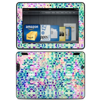 Amazon Kindle HDX Skin - Pastel Triangle