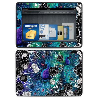 Amazon Kindle HDX Skin - Peacock Garden