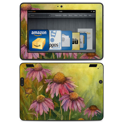Amazon Kindle HDX Skin - Prairie Coneflower