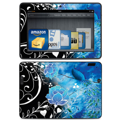 Amazon Kindle HDX Skin - Peacock Sky