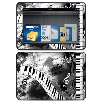 Amazon Kindle HDX Skin - Piano Pizazz