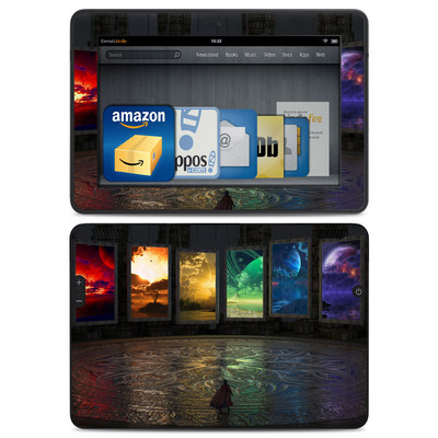 Amazon Kindle HDX Skin - Portals