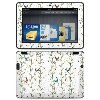 Amazon Kindle HDX Skin - Royal Birds
