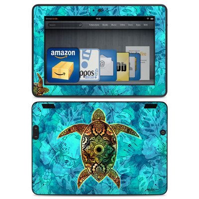 Amazon Kindle HDX Skin - Sacred Honu