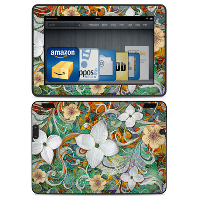 Amazon Kindle HDX Skin - Sangria Flora