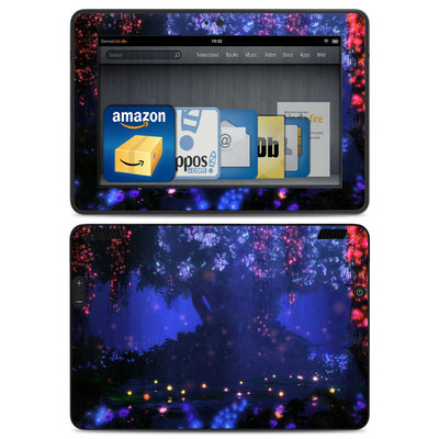 Amazon Kindle HDX Skin - Satori Night