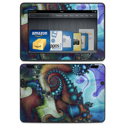 Amazon Kindle HDX Skin - Sea Jewel