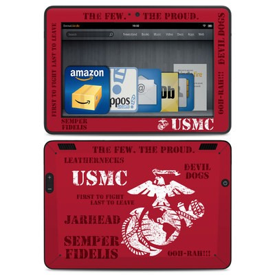 Amazon Kindle HDX Skin - Semper Fi