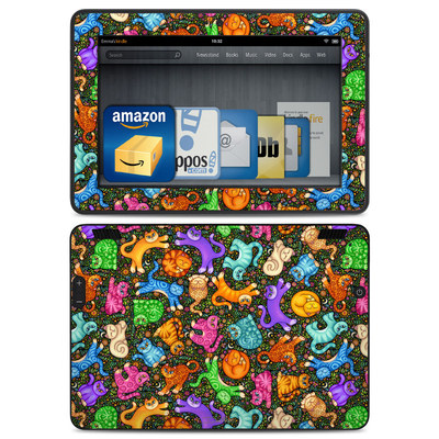 Amazon Kindle HDX Skin - Sew Catty