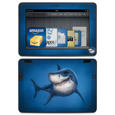 Amazon Kindle HDX Skin - Shark Totem