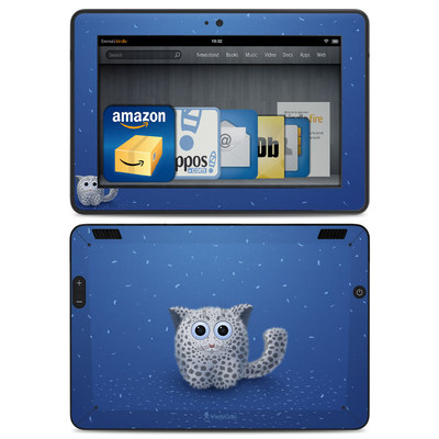 Amazon Kindle HDX Skin - Snow Leopard