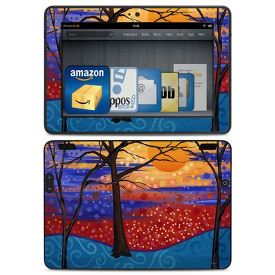 Amazon Kindle HDX Skin - Sunset Moon