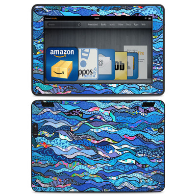 Amazon Kindle HDX Skin - The Blues