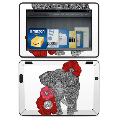 Amazon Kindle HDX Skin - The Elephant