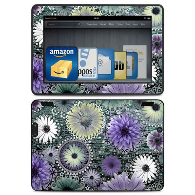 Amazon Kindle HDX Skin - Tidal Bloom