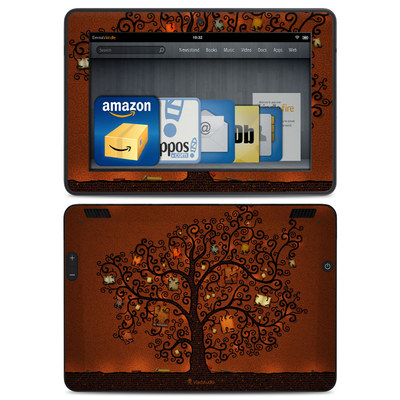 Amazon Kindle HDX Skin - Tree Of Books