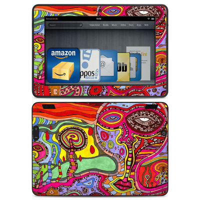 Amazon Kindle HDX Skin - The Wall