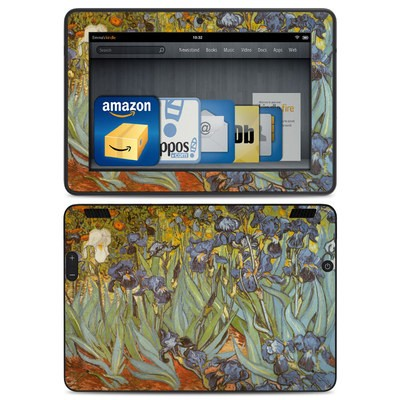 Amazon Kindle HDX Skin - Irises