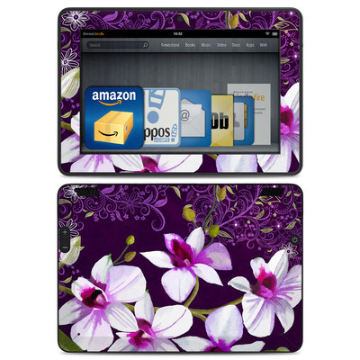 Amazon Kindle HDX Skin - Violet Worlds